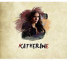 Katherine - The Vampire Diaries Photographic Print