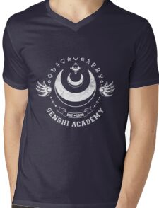 Senshi Academy Mens V-Neck T-Shirt