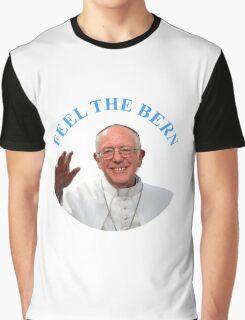 Pope Bernie Sanders Graphic T-Shirt