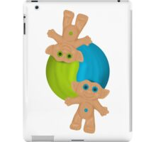 Yin-Yang Trolls iPad Case/Skin