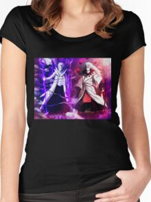 Madara and Obito Women's Fitted Scoop T-Shirt