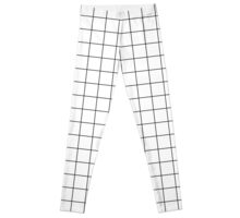 Grid pattern design Leggings