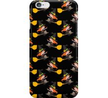Cute witch Lady Pattern iPhone Case/Skin