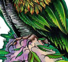 Cannabis Owl Sticker