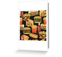 Fast Food - Or, All the Nice Things I Can't Have - Charcoal Greeting Card