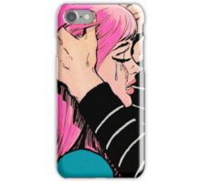 Pop Art Woman Crying iPhone Case/Skin