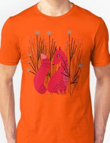 Fox in Shrub T-Shirt