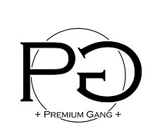 Premium Gang Clothes (Black Logo) Photographic Print