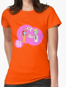 Animal Inspector - Creme Brulee Womens Fitted T-Shirt