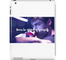 Alec Lightwood. iPad Case/Skin