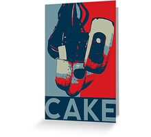 Vote for GLaDOS Greeting Card