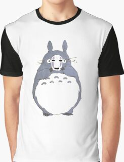 No Face Totoro Graphic T-Shirt