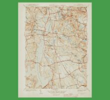 USGS TOPO Map Rhode Island RI North Scituate 353434 1943 31680 Kids Tee
