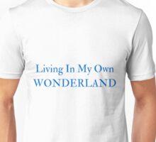 Living In My Own Wonderland (All Blue) Unisex T-Shirt