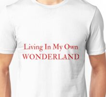 Living In My Own Wonderland (All Red) Unisex T-Shirt