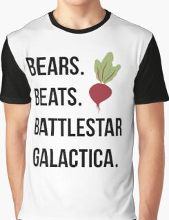 Bears Beets Battlestar Galactica - The Office Graphic T-Shirt