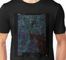USGS TOPO Map Rhode Island RI East Greenwich 353285 1996 24000 Inverted Unisex T-Shirt
