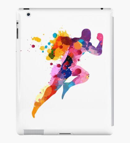 Splash runner iPad Case/Skin