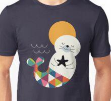 Seals Mermaid Unisex T-Shirt