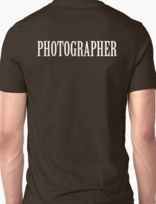 Photographer shirt Unisex T-Shirt