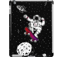 space astronaut skateboard iPad Case/Skin