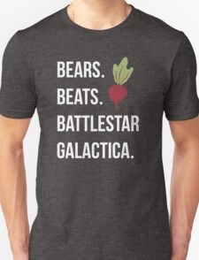 Bears Beets Battlestar Galactica - The Office T-Shirt