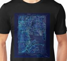 USGS TOPO Map Rhode Island RI East Greenwich 353412 1944 31680 Inverted Unisex T-Shirt