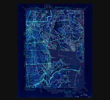 USGS TOPO Map Rhode Island RI East Greenwich 353412 1944 31680 Inverted T-Shirt