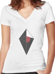 No Man's Sky Logo | Special Women's Fitted V-Neck T-Shirt
