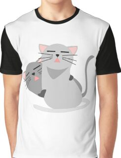 brother-Cat Graphic T-Shirt
