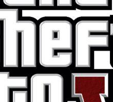 GTA VI Logo | Grand Theft Auto Sticker