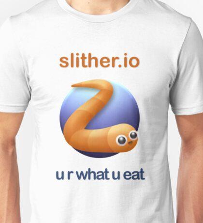 Slither.io - u r what u eat Unisex T-Shirt