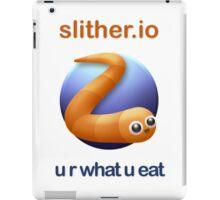 Slither.io - u r what u eat iPad Case/Skin