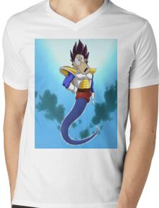 Rocko Vegeta Genie man Mens V-Neck T-Shirt