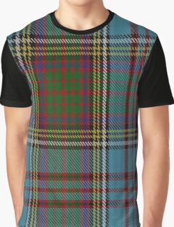 00005 Anderson Clan/Family Tartan  Graphic T-Shirt