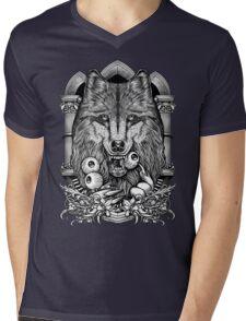 Winya No.10 Mens V-Neck T-Shirt