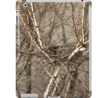 empty bird nest iPad Case/Skin