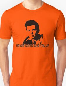 Rick Astley Hardcore Memeing Unisex T-Shirt
