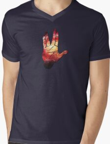 Deep Space Galaxy (Messier 101 Remix) Mens V-Neck T-Shirt
