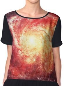 Deep Space Galaxy (Messier 101 Remix) Chiffon Top