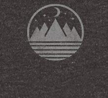 Mountains by nightfall Unisex T-Shirt