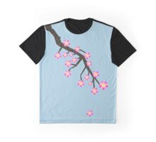 Cherry Blossom Branch Graphic T-Shirt