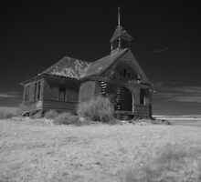 Abandoned Schoolhouse by Tim Sousa
