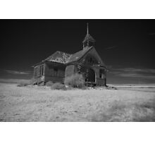 Abandoned Schoolhouse Photographic Print