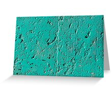 Colorful painted wall Greeting Card