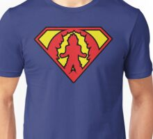 Superman vs Goku - Super Saiyan Symbol Unisex T-Shirt