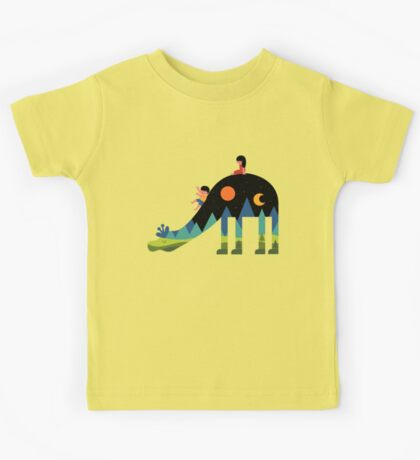 Up And Down Kids Tee