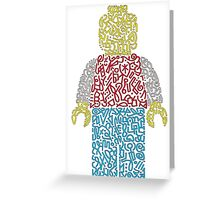 Lego Greeting Card