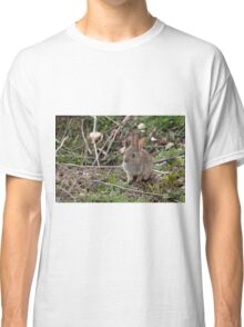 Baby rabbit just out of the nest. Classic T-Shirt