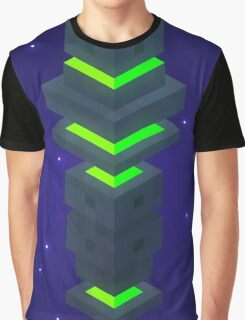 Hexaverse Obelisk Graphic T-Shirt